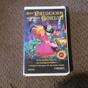 Other - The Princess and the Goblin VHS